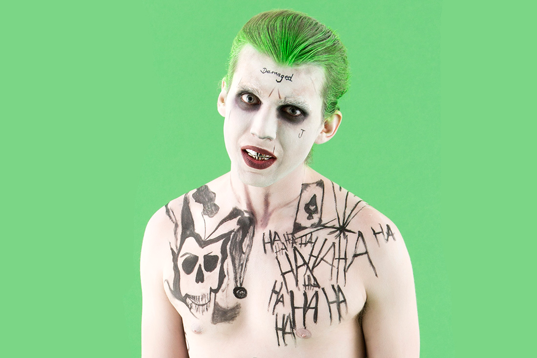 How to make suicide squads the joker costume for halloween easy style how to make suicide squads the joker costume for halloween solutioingenieria Gallery