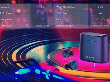 Padmate Tempo T5 TWS Headphones Review