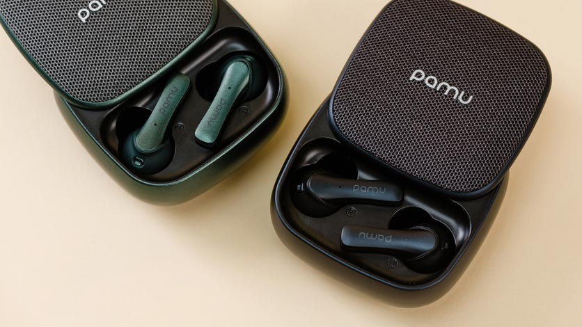 Padmate PaMu Slide Truly Wireless Earphones with Wireless Charging
